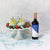 Chocolate Dipped Fruits & Wine Gift Set
