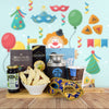 Purim Coffee & Snacks Basket, gourmet gift baskets, kosher gift baskets, gift baskets, Jewish holiday gift baskets, Purim gift baskets, Shabbat gift baskets, Passover gift baskets
