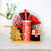 Christmas Tea & Sweets Gift Basket