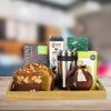 Travel Coffee & Cake Gift Set, gourmet gift baskets, gourmet gifts, gifts