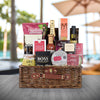 HEAVILY LOADED GOURMET GIFT BASKET