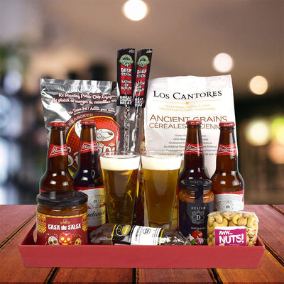 Ice Cold Beer Gift Basket