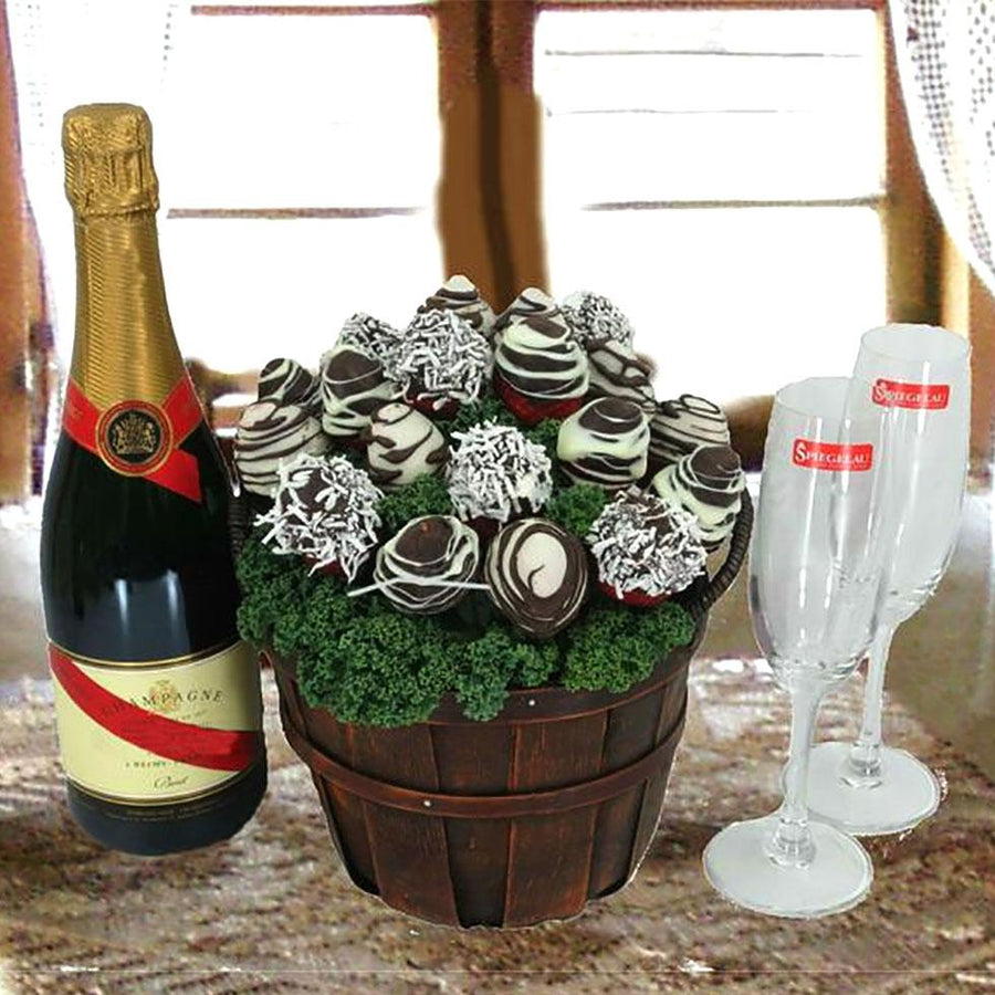 Gluten free gift baskets champagne chocolate bouquet negle Choice Image