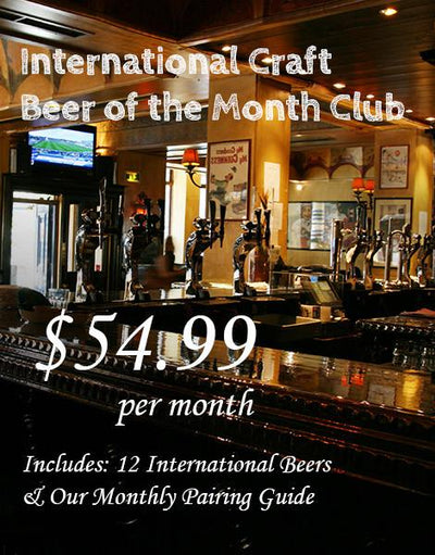 Custom Food & Drink of the Month Club