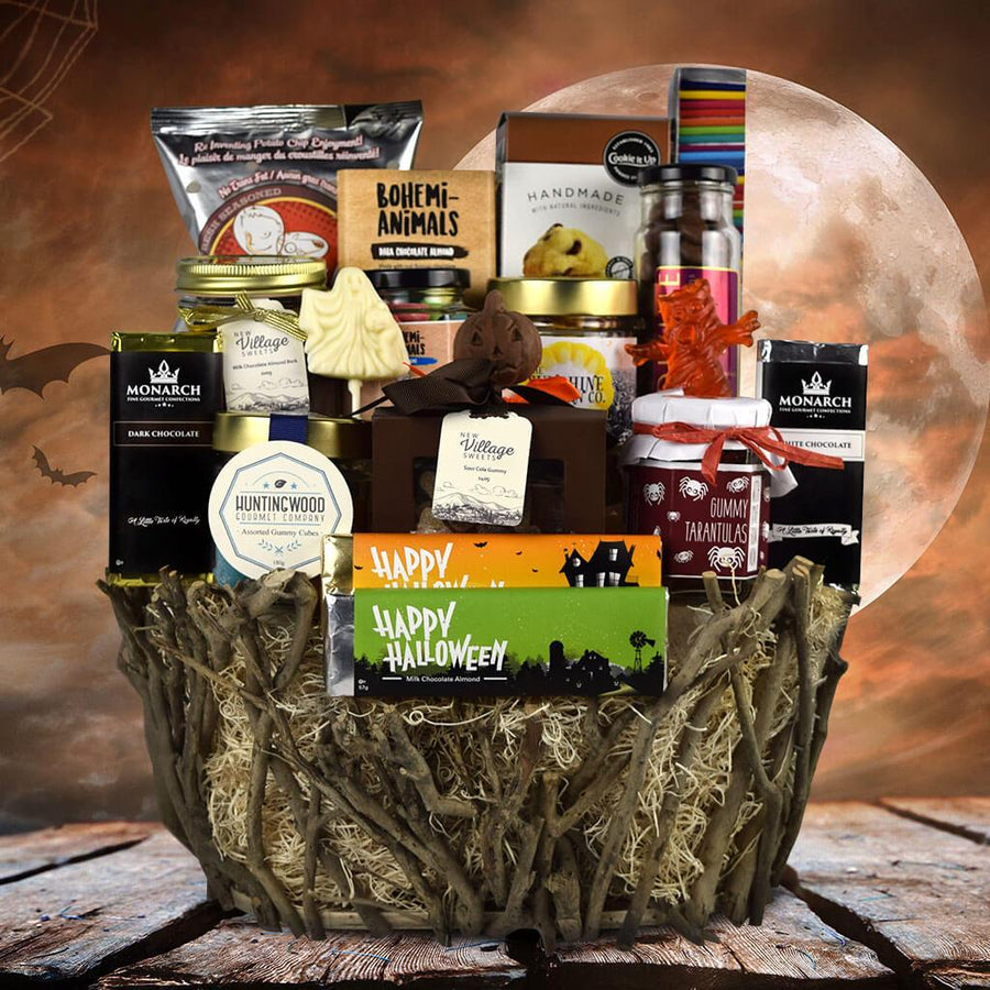 Halloween Gift Basket Ideas For Adults.Halloween Gift Baskets Hazelton S Usa