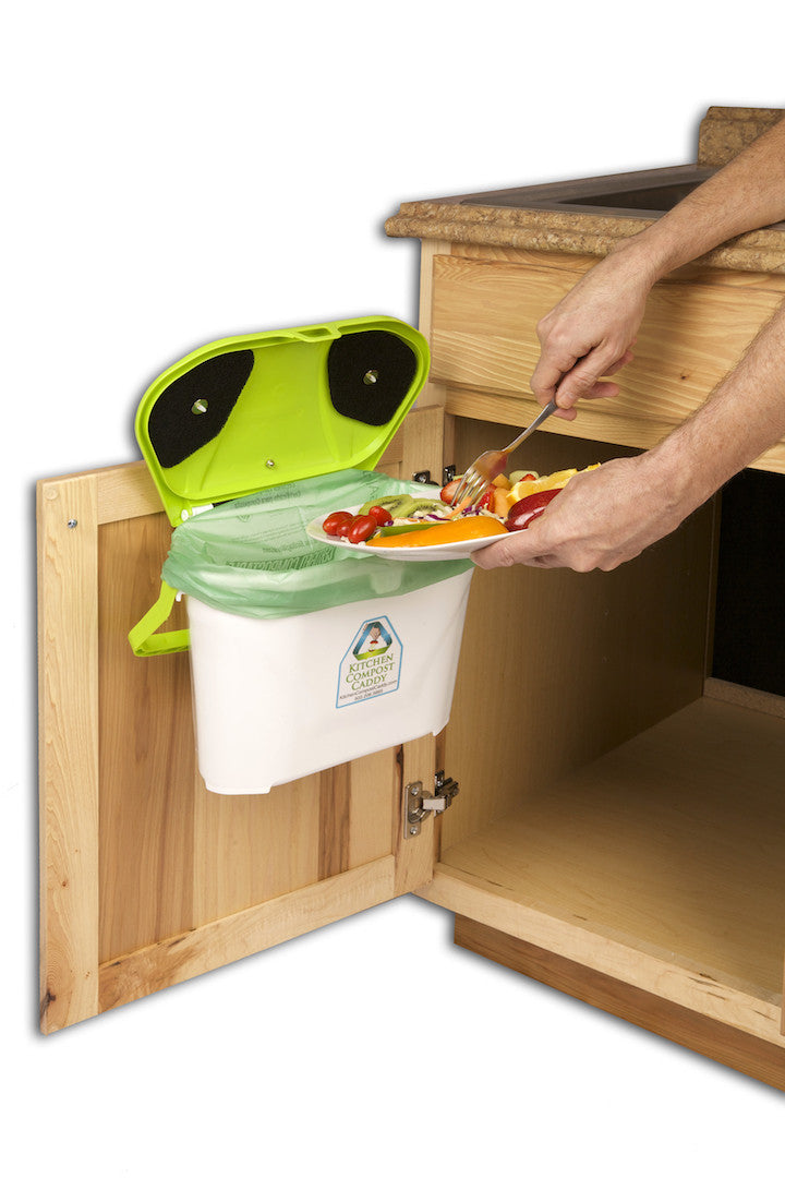 kitchen caddy compost system with cabinet mount - Kitchen Caddy