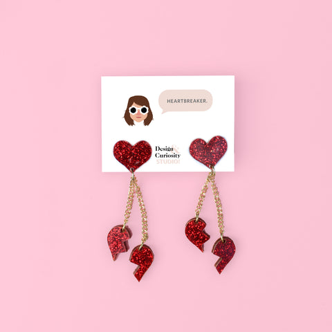 Heartbreaker Statement Earrings
