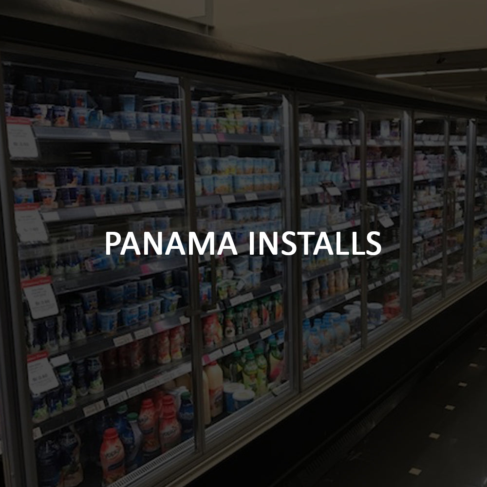 Remis America Install in Panama similar to Anthony Glass Door System