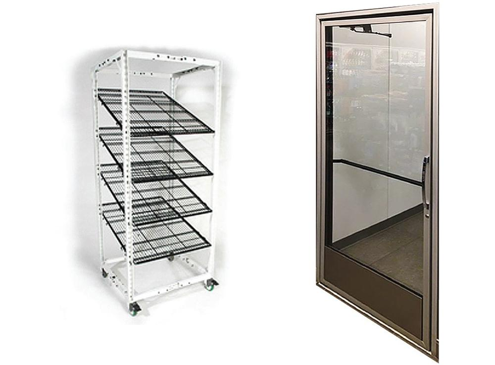 Remis America Glass Refrigeration Doors Safe W Series