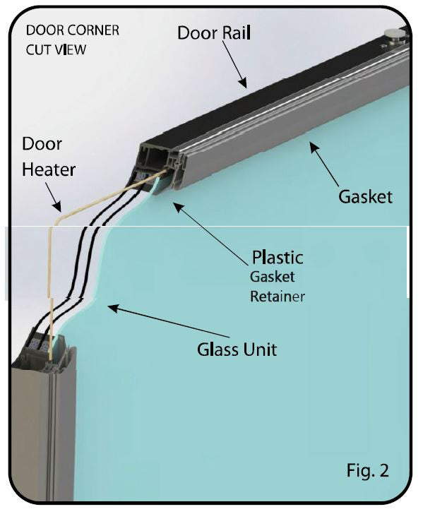 Remis America Glass Display Doors Installation and Service Manual