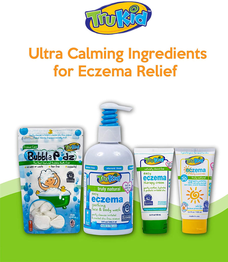 TruKid Easy Eczema Therapy Cream 3.4 oz. Tube