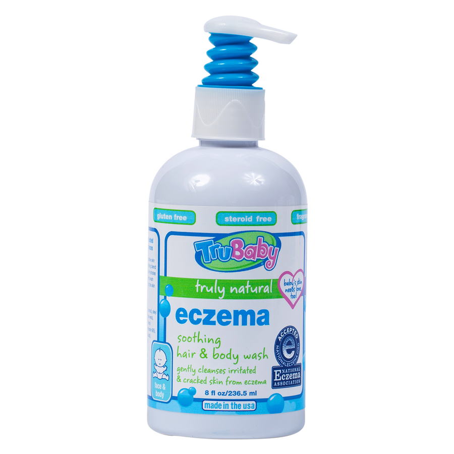 TruBaby Eczema Soothing Hair and Body Wash 8 oz.