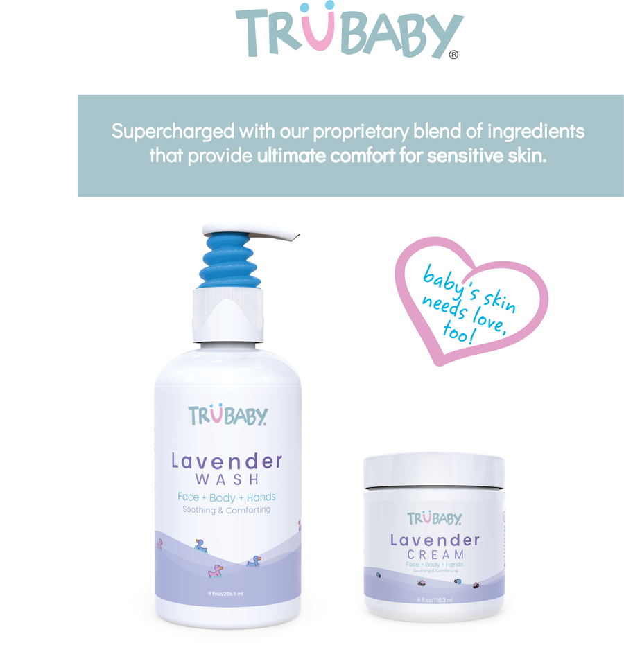 TruBaby Lavender Cream 4oz