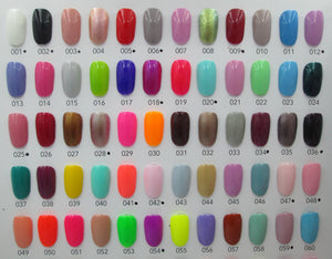 ENC Coloured Gel Polish 001-060