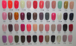 ENC Coloured Gel Polish 169-216
