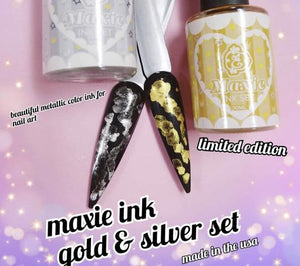 Maxie Ink Set - Gold & Silver Limited Edition