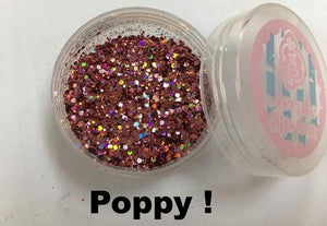 ENC Pure Magic Glitter - Poppy
