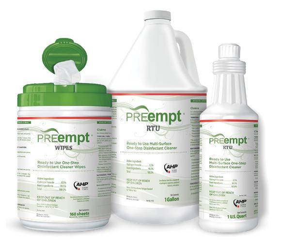 PREempt™ Cleaners and Disinfectants