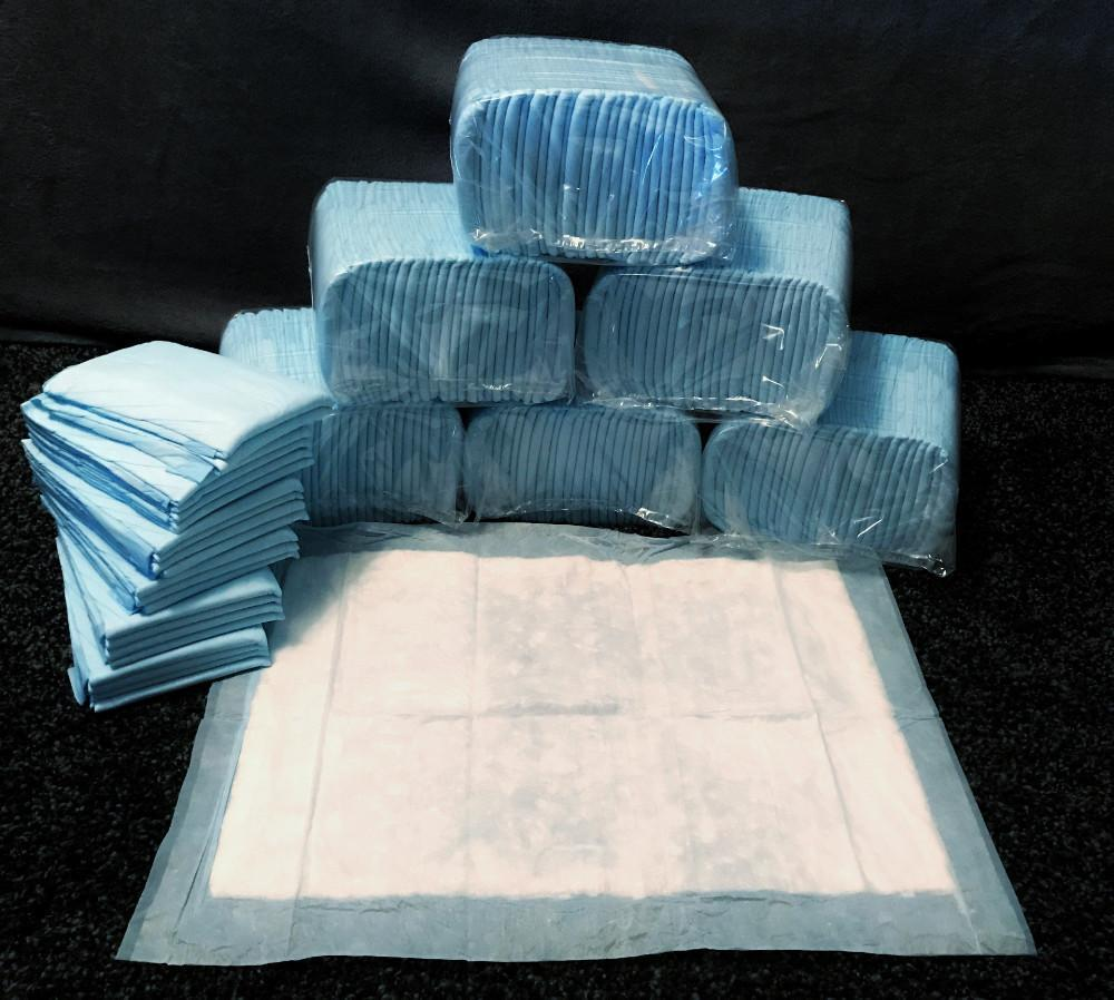 600 Medium 17x24 Inch Pee Pads $99.97 - Free Shipping - $10 Savings For Bulk Discount - Pee-Pads.com