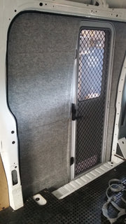 DIY RV Door Conversion - Mercedes Sprinter Post 07 - Internal - DIY RV Solutions