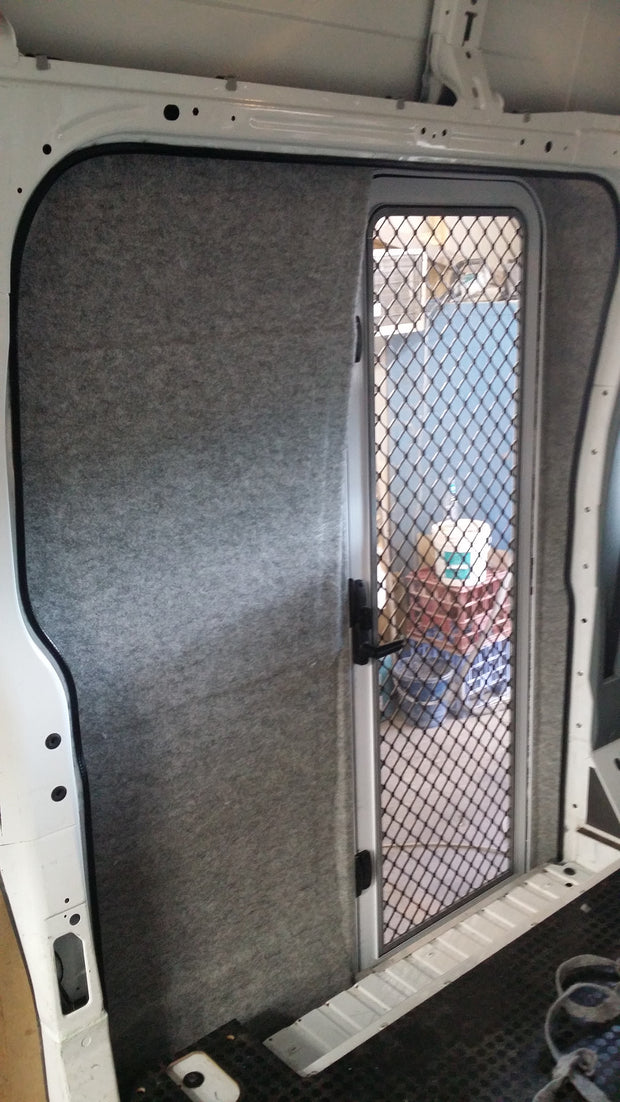 DIY RV Door Conversion - Mercedes Sprinter Pre 07 - Internal - DIY RV Solutions