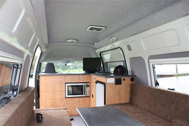 HiTop Roof Conversion - Interior - Toyota Hiace SLWB Post 05 - Supply & Fit - DIY RV Solutions