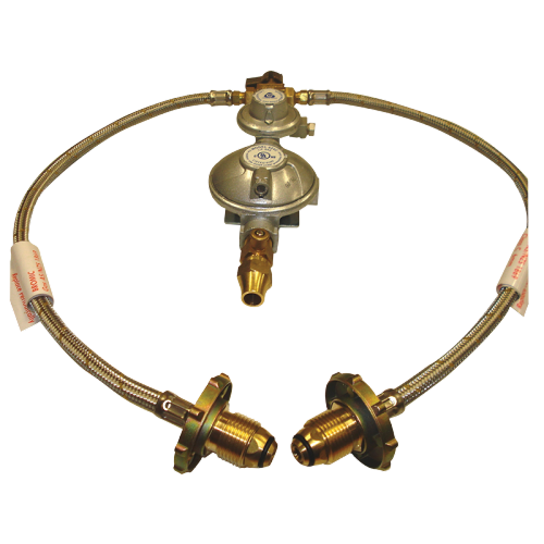 DIY RV Solutions - double gas cylinder regulator kit