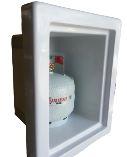 Gas Bottle Storage Box - Universal 1x4Kg - DIY RV Solutions