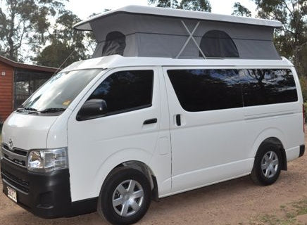 Pop Top Roof Conversion - Toyota Hiace LWB Post 05 - Supply & Fit - DIY RV Solutions