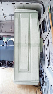 Motorhome Shower Cubicle - installed - Fiat Ducato & Renault Master - DIY RV Solutions