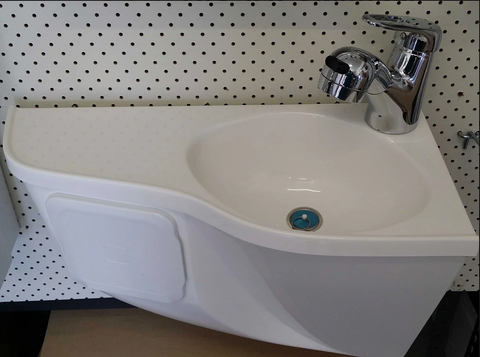 Motorhome Fibreglass Deluxe Basin - DIY RV Solutions
