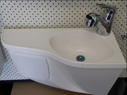 Motorhome Fibreglass Deluxe Basin Combo - Tap In - DIY RV Solutions