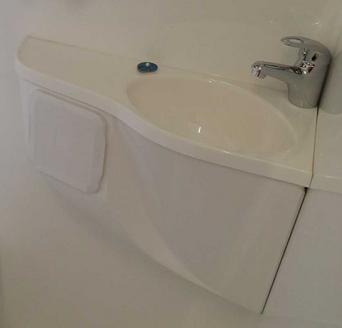 Motorhome Fibreglass Deluxe Basin Kit - DIY RV Solutions