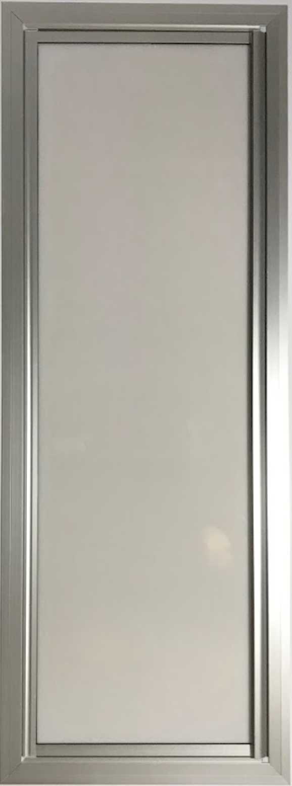 Motorhome Shower -  Door Frame With Acrylic Panel - DIY RV Solutions