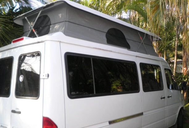 Pop Top Roof Conversion - Volkswagen LT35 Pre 07 - Supply & Fit - DIY RV Solutions