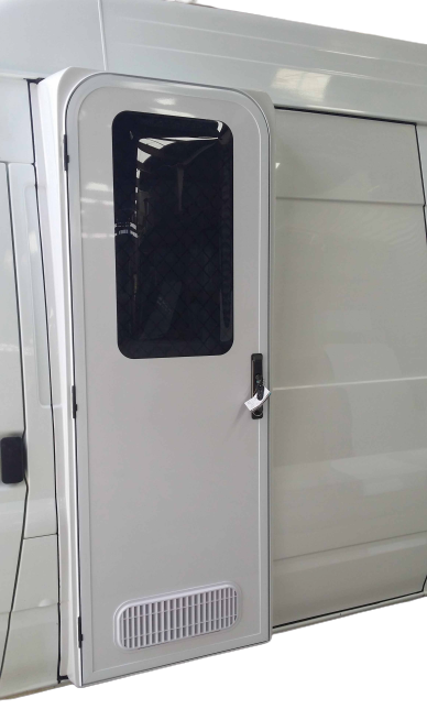 DIY RV Door Conversion - Ford Transit 2000 2013 - Camec Crimsafe - Supply & Fit - DIY RV Solutions