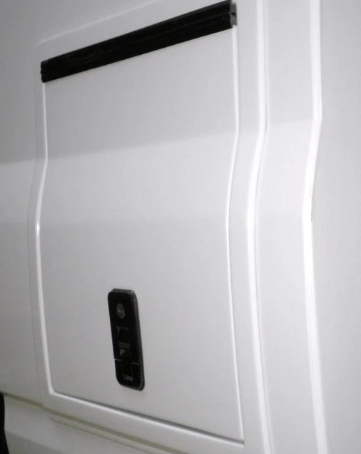 Gas Bottle Storage Box - Ford Transit 2000 2013 - 2x4Kg- Front & Rear - DIY RV Solutions