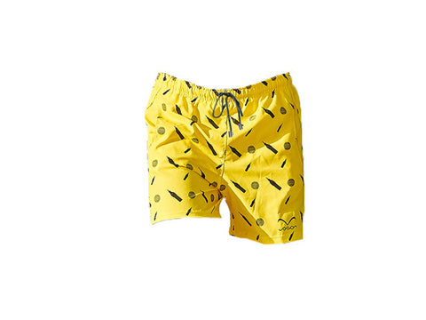 short swimwear trunk bright yellow