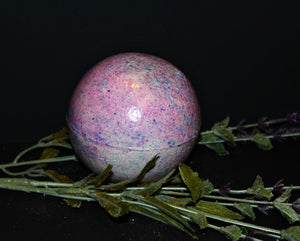 Purple bliss jumbo sized bath bomb - Cece's Sensations