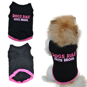 DOGS RULE CATS DROOL Doggy Vest
