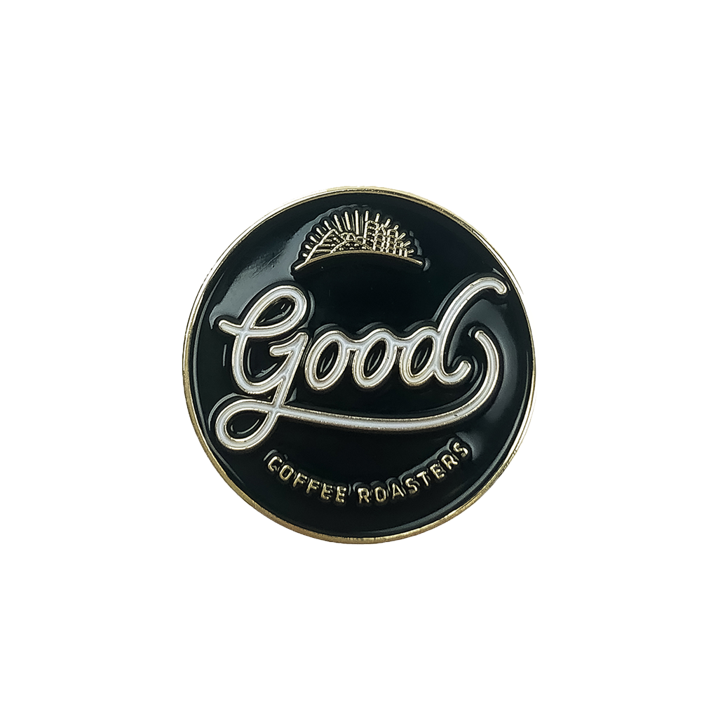 Good Coffee Roasters Pin