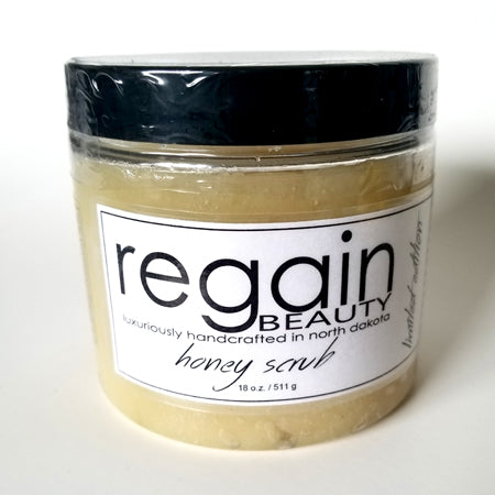 Unscented Honey Scrub - 18oz