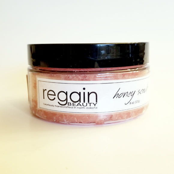 Pink Champagne Honey Scrub - 8oz
