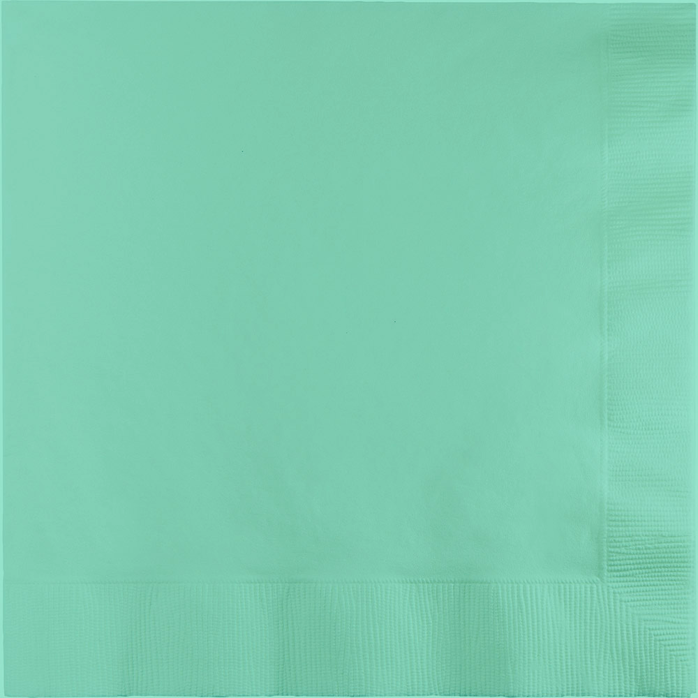Servilleta Grande Color Menta- 50 pzas Servilletas Creative Converting