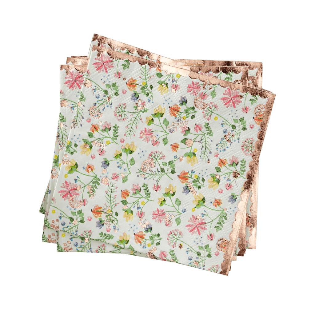 Ditsy Floral Napkin - 16 pzas Servilletas Ginger Ray