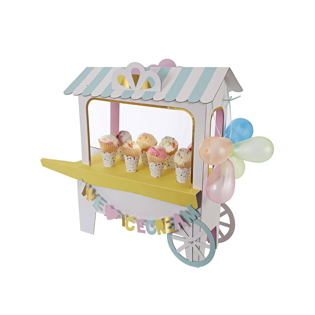 "Display de Carrito de Helado ""We Love Ice Cream"" - 1 pza."
