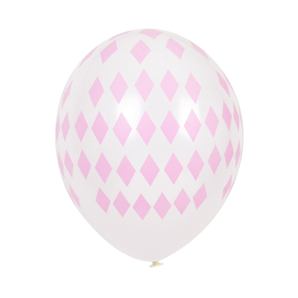 "Globo Latex 11"" Impresos con Diamante Rosa - 5 pzas Globos My Little Day"