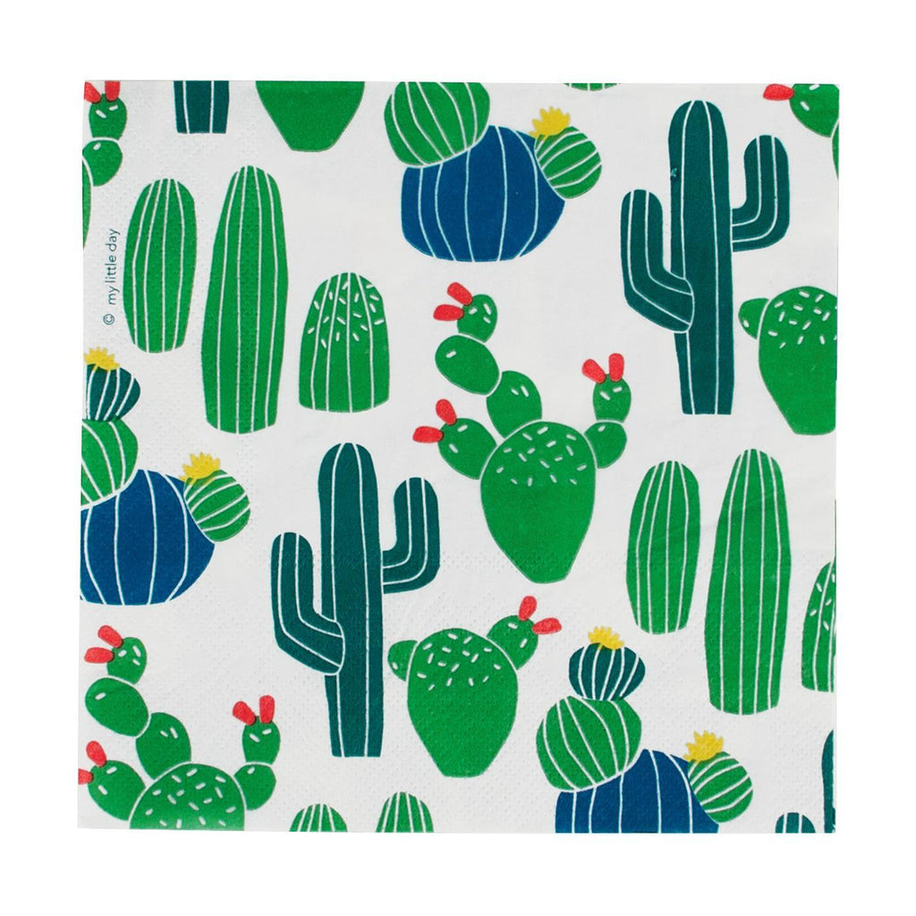 Servilleta Grande Cactus - 20 pzas Servilletas My Little Day