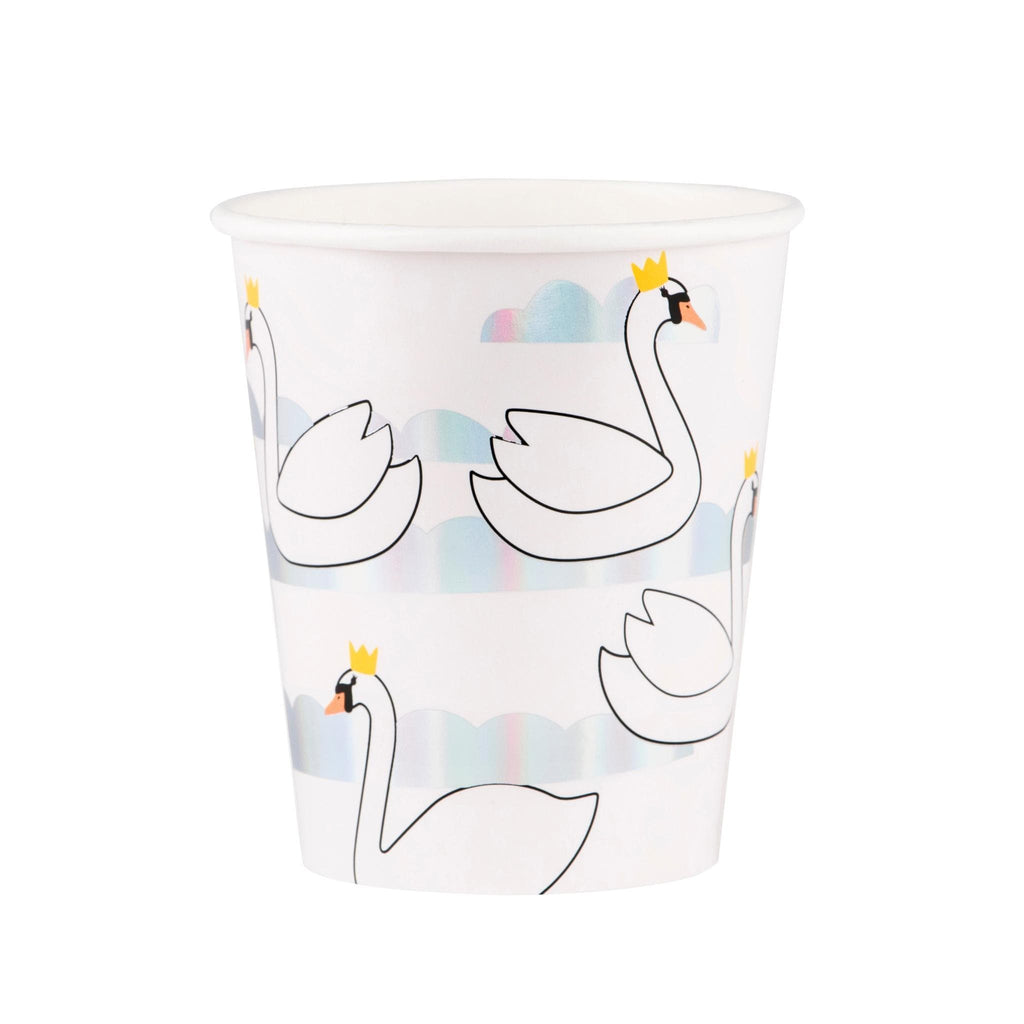 Vaso Cisnes - 8 pzas Vasos My Little Day