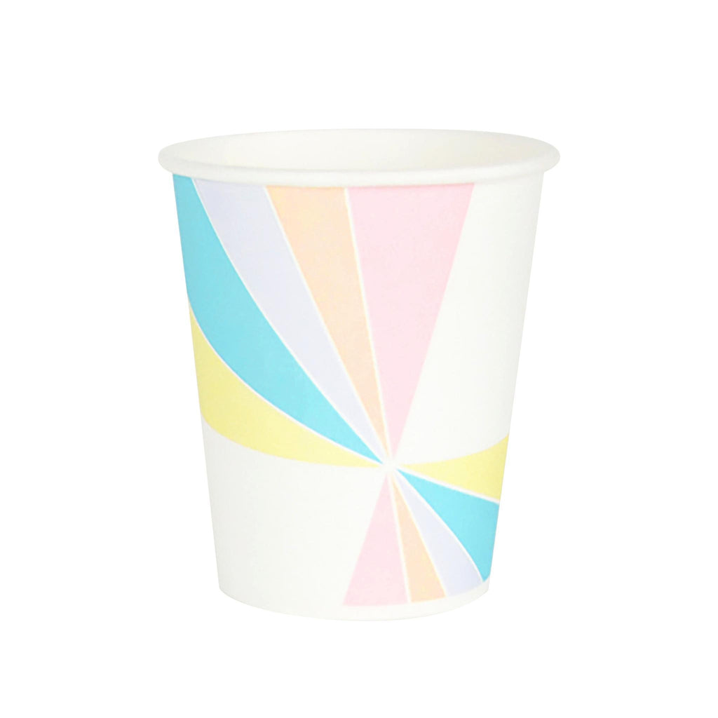 Vaso Colores Pastel- 8 pzas Vasos My Little Day